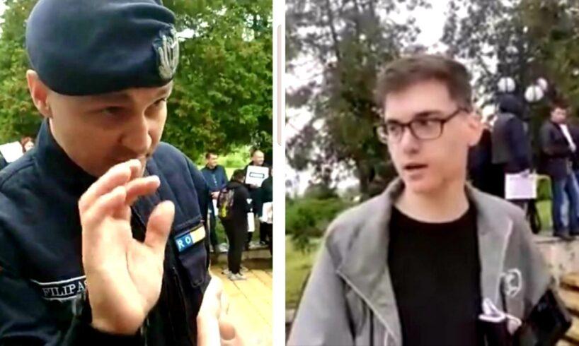 video interviu cu alin eroul zilei de ieri amenintat de seful jandarmeriei mures