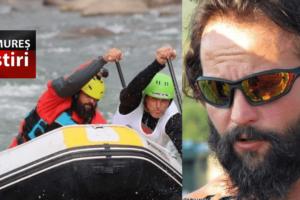 edi ilea participa in patagonia la campionatul mondial de rafting
