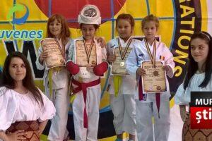 micutii karatisti mureseni s au intors cu medalii de la campionatul national foto