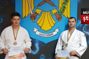 politistii mureseni medaliati cu aur si bronz la campionatul national de judo