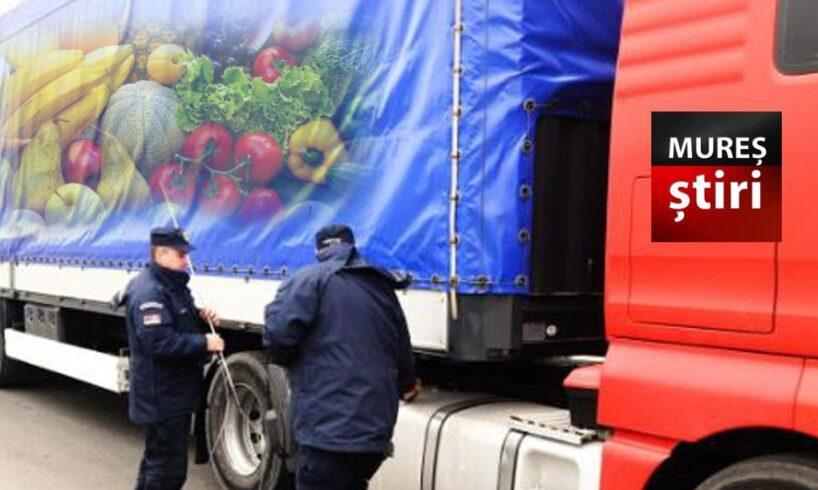 minune au controlat 187 de tir uri pline cu legume si fructe cate nereguli au descoperit autoritatile muresene