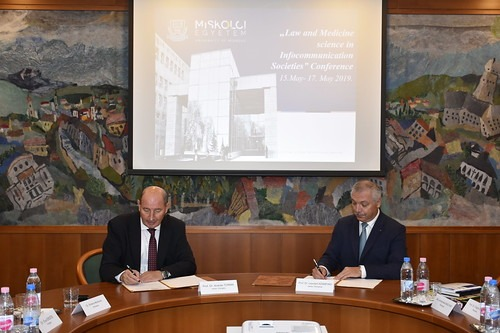 parteneriat intre umfst targu mures si universitatea din miskolc ungaria