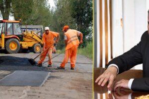 marea carpeala se plateste peste 1 milion de euro doar pentru plombari si covoare de bitum pe 20 de kilometri de drumuri judetene