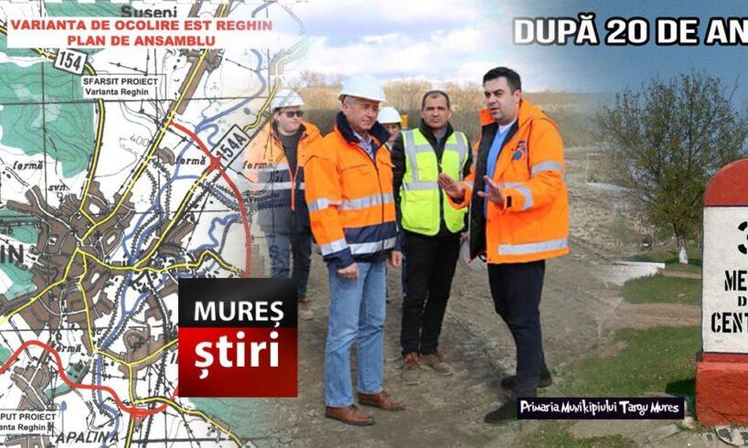 info a fost lansata licitatia pentru varianta de ocolire a municipiului reghin