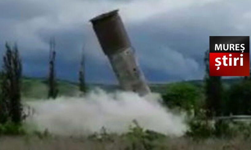 azi!-doua-explozii-au-pus-la-pamant-turnurile-de-beton!-video