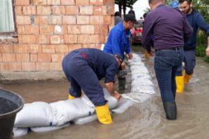 video foto profesionistii aba mures interventie prompta la inundatia de la sanpaul