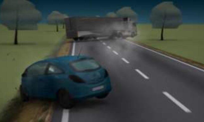animatie grafica cum s a produs accidentul intre 3 autovehicule soldat cu doi morti