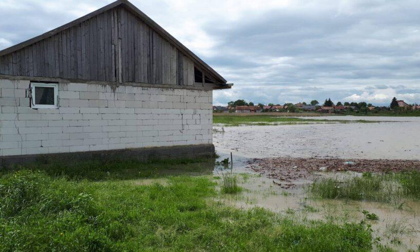 prefectura mures bilantul inundatiilor care au lovit judetul mures in ultimele zile