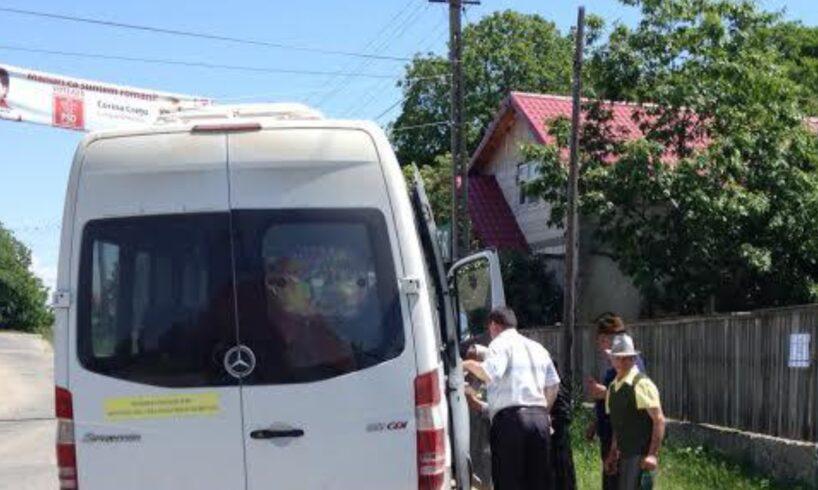 azi politistii au prins un muresean care transporta si sfatuia oamenii cu cine sa voteze