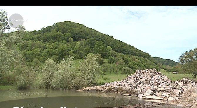 biserica din bezid scufundata in ape va fi un obiectiv pentru turisti din aceasta vara video