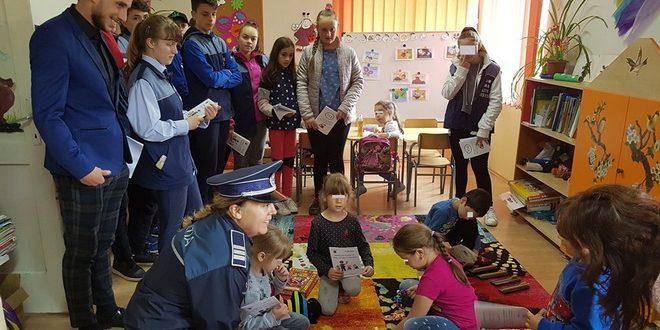 foto micii politisti cristesti activitati in cadrul campaniei impreuna pentru o comunitate mai sigura