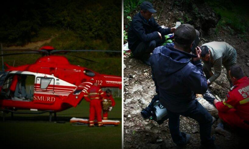 azi doi turisti straini atacati si raniti de un urs