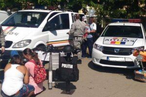politistii mureseni alaturi de copii de 1 iunie