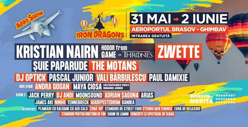 un festival aeronautic care isi propune sa ajunga cel mai tare din centrul tarii va avea loc in acest weekend la brasov pe aerodromul din ghimbav