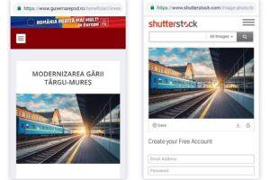 PSD se promoveaza in judetul Mures cu fotografii false
