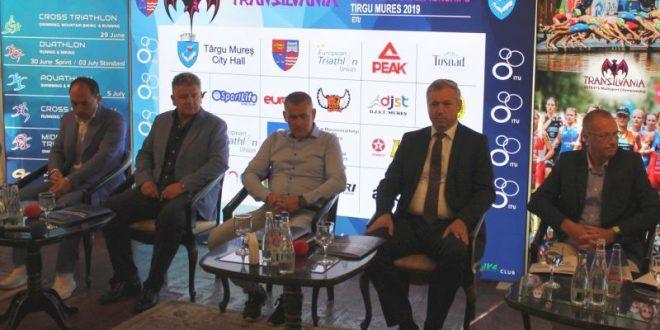 start in maratonul europenelor de triathlon