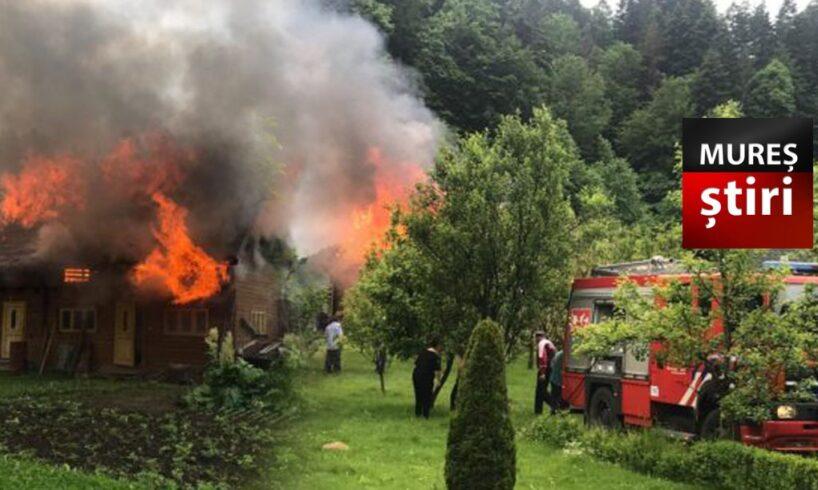 foto victima arsa pe fata si membre in urma incendiului violent de la lunca bradului