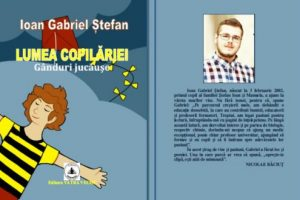 """elevul-ioan-gabriel-stefan-isi-lanseaza-cartea-de-versuri-""""lumea-copilariei.-ganduri-jucause"""""""