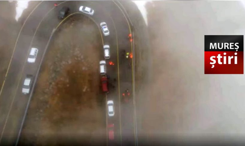 video a fost redeschisa circulatia auto pe una dintre cele mai spectaculoase sosele din romania