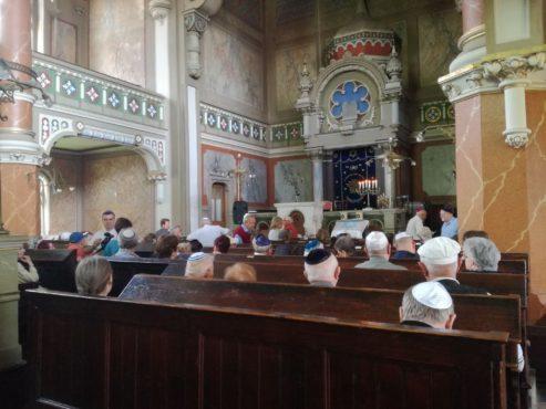 memoria holocaustului la sinagoga din tirgu mures