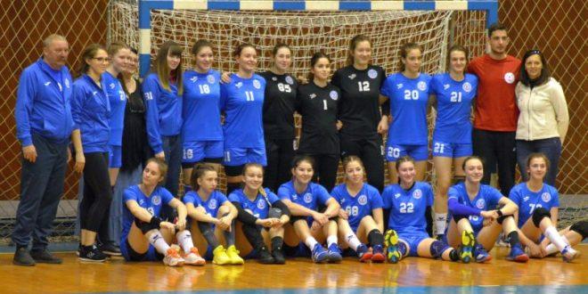 debut cu victorie pentru handbalistele junioare ii
