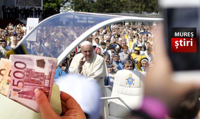 misterul plicului cu 5 000 de euro gasit intr o toaleta in timpul vizitei papei francisc
