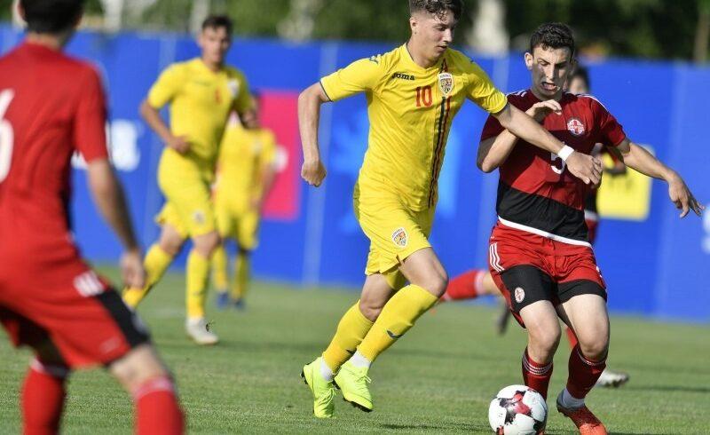 romania georgia 1 0 la fotbal u 18