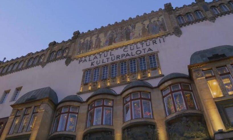 spectacol la tg mures cu elevii scolii de muzica din germania