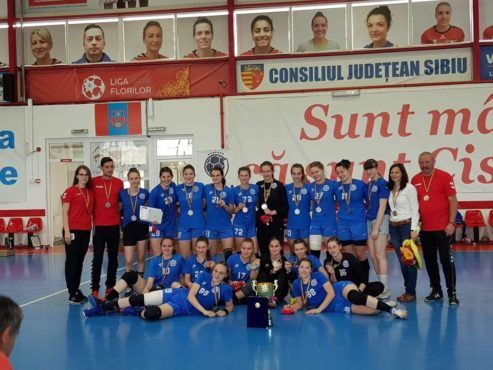 vicecampioane nationale fetele de la csm tirgu mures handbal junior ii