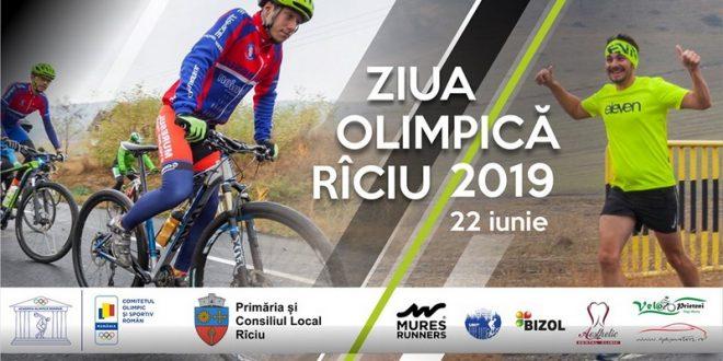 invitatie la ziua olimpica riciu 2019