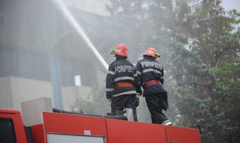 exercitiu de interventie la incendiu in cetatea sighisoarei