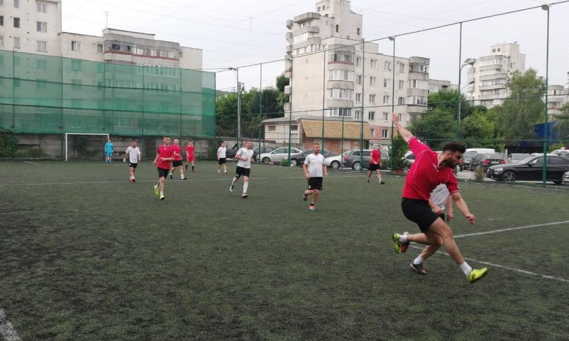 mures politisti procurori si judecatori pe terenul de fotbal