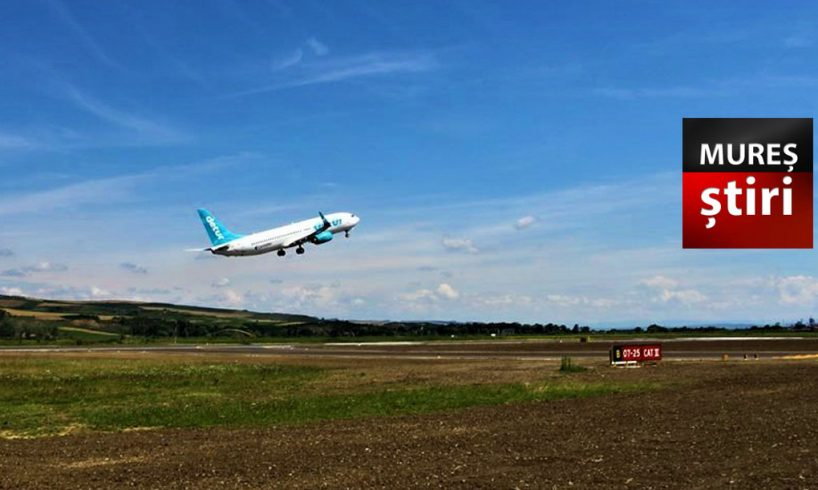 info doua curse noi pe aeroportul transilvania cate zboruri saptamanale sunt la un an de la redeschidere