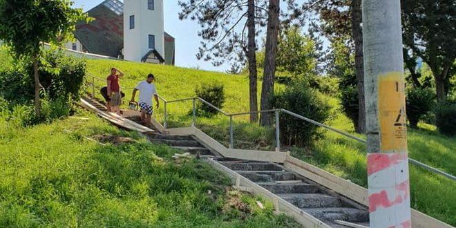 amplu proces de reabilitare a scarilor din cartierul dambu pietros
