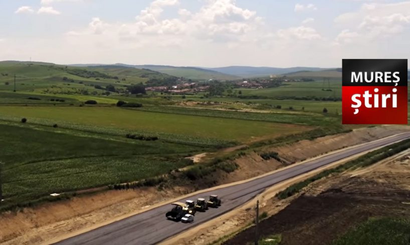video vesti bune despre lotul de 22 de kilometri din a3 mures cand vom putea circula pe ei