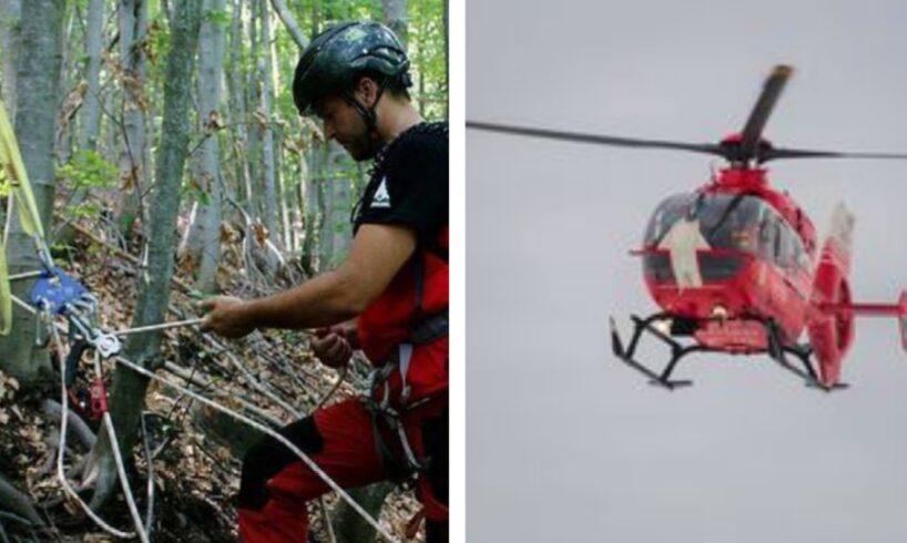 acum inca un turist accidentat s a solicitat interventia elicopterului