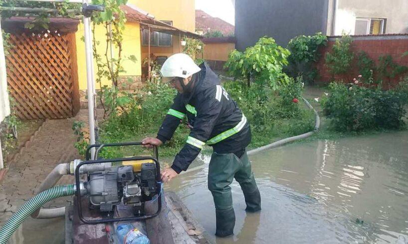 vremea rea a afectat mai multe localitati inclusiv din harghita