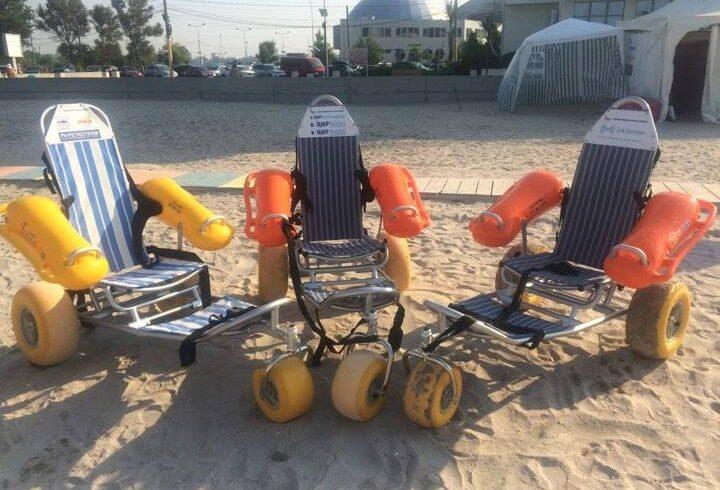 plaja pentru persoane cu dizabilitati pe litoral