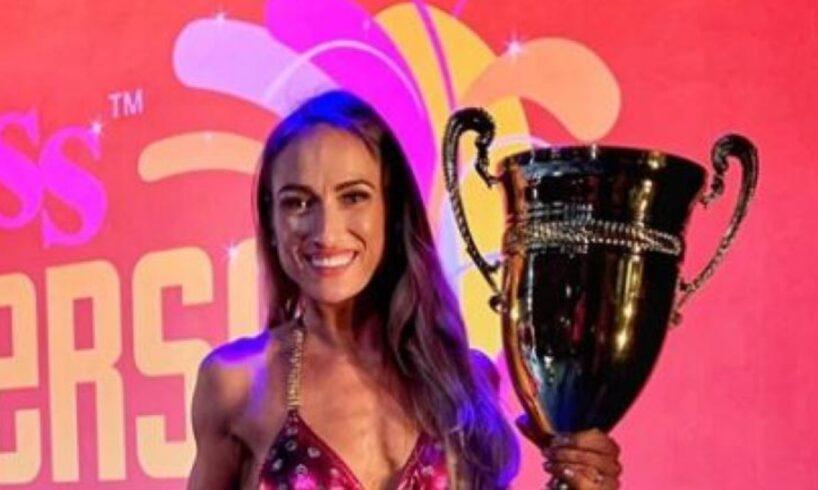 foto o mureseanca a castigat pentru a sasea oara titlul miss fitness univers