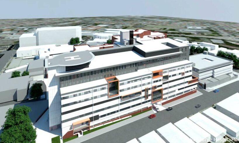 o cladire cu trei niveluri care ar urma sa aiba si un heliport asa arata spitalul regional brasov