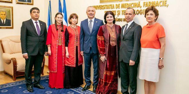 delegatie din turkmenistan la umfst targu mures