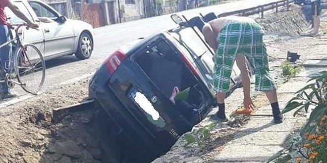 accident grav in calimanesti