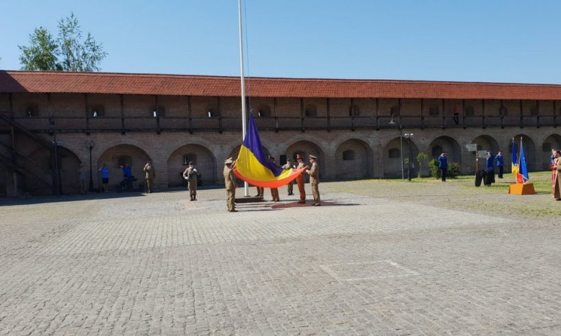 drapelul national s a ridicat astazi cu cinste la targu mures