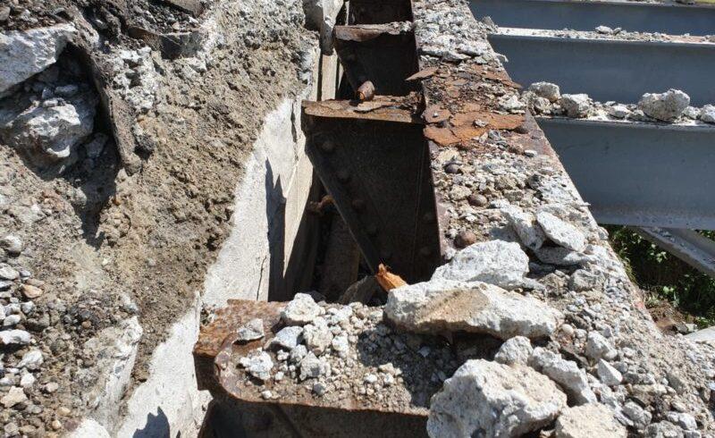 podul din tarnaveni a fost demolat avea peste 100 de ani