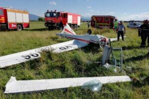 accident aviatic in brasov