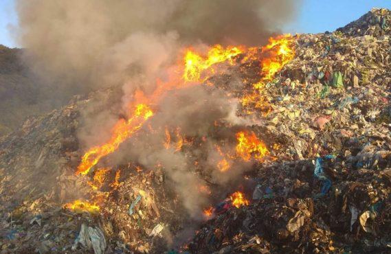 incendiu-la-groapa-de-gunoi-din-sighisoara