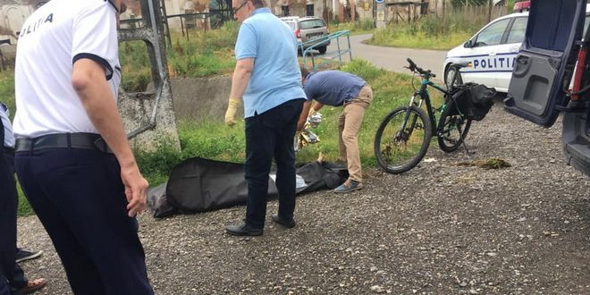 biciclist gasit decedat in corunca
