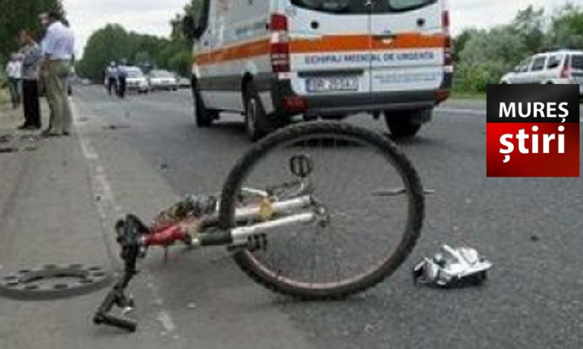 inuman un sofer muresean a lovit un biciclist cu duba si apoi a fugit de la locul accidentului