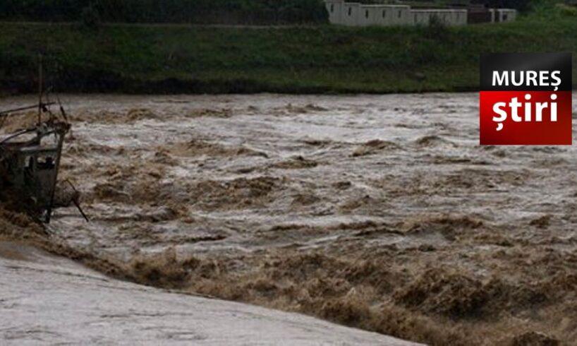 avertizare de viituri si depasiri de cote cu posibilitate de inundatii in mures