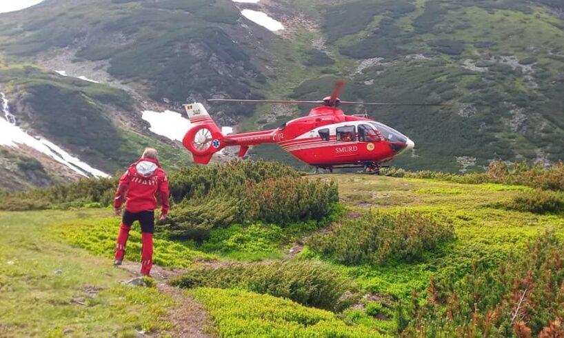 a fost solicitat elicopterul smurd pentru un barbat care a suferit un infarct pe varful madaras